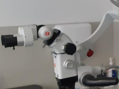 Mikroskop KAPS 1100 balancing na pojezdu - demo