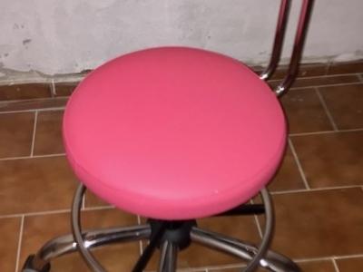 Lékařská židle - růžová
